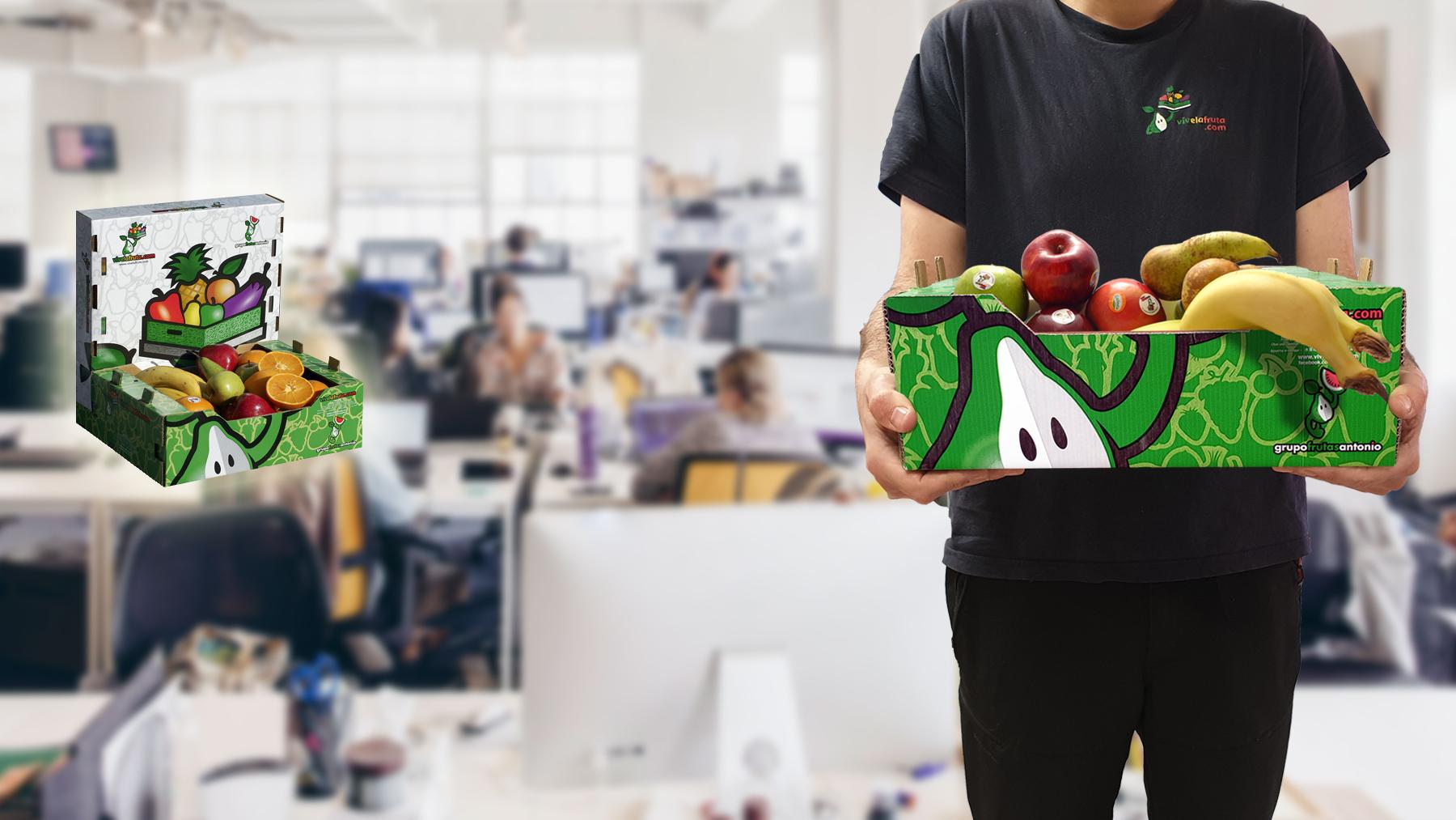 distribución de fruta oficinas empresas españa