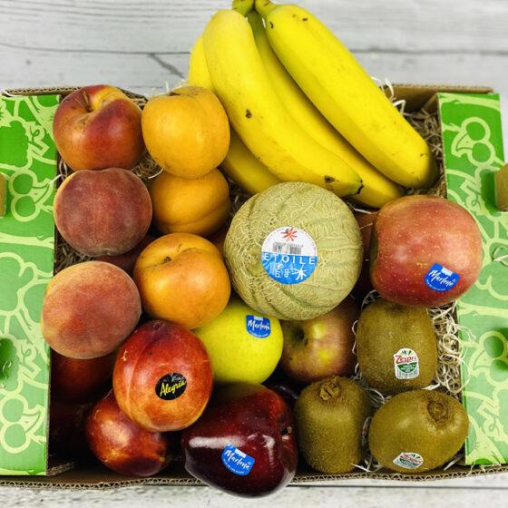 cesta de fruta variada madrid