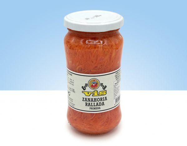 zanahoria en conserva para ensaladas