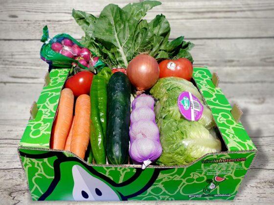 caja de verduras a domicilio
