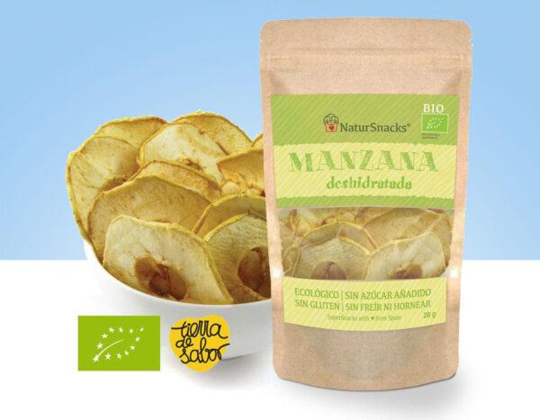 snack de Manzana deshidratada