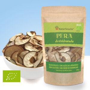 snack de Pera deshidratada