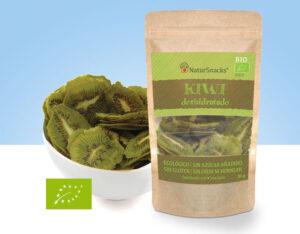 snack de kiwi deshidratado