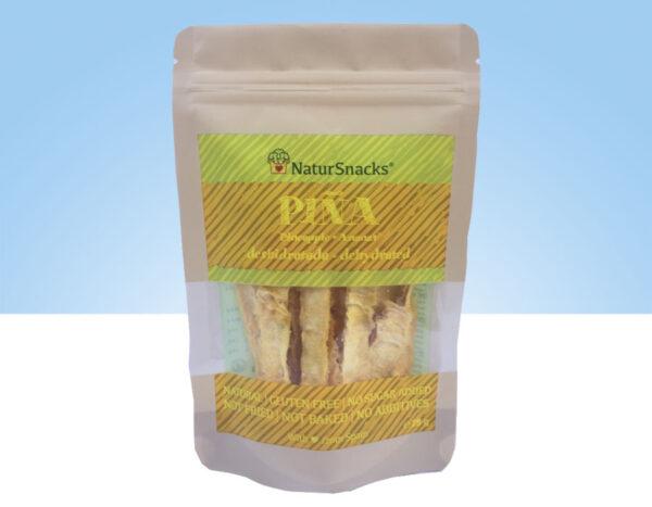 snack de Piña deshidratada en sticks