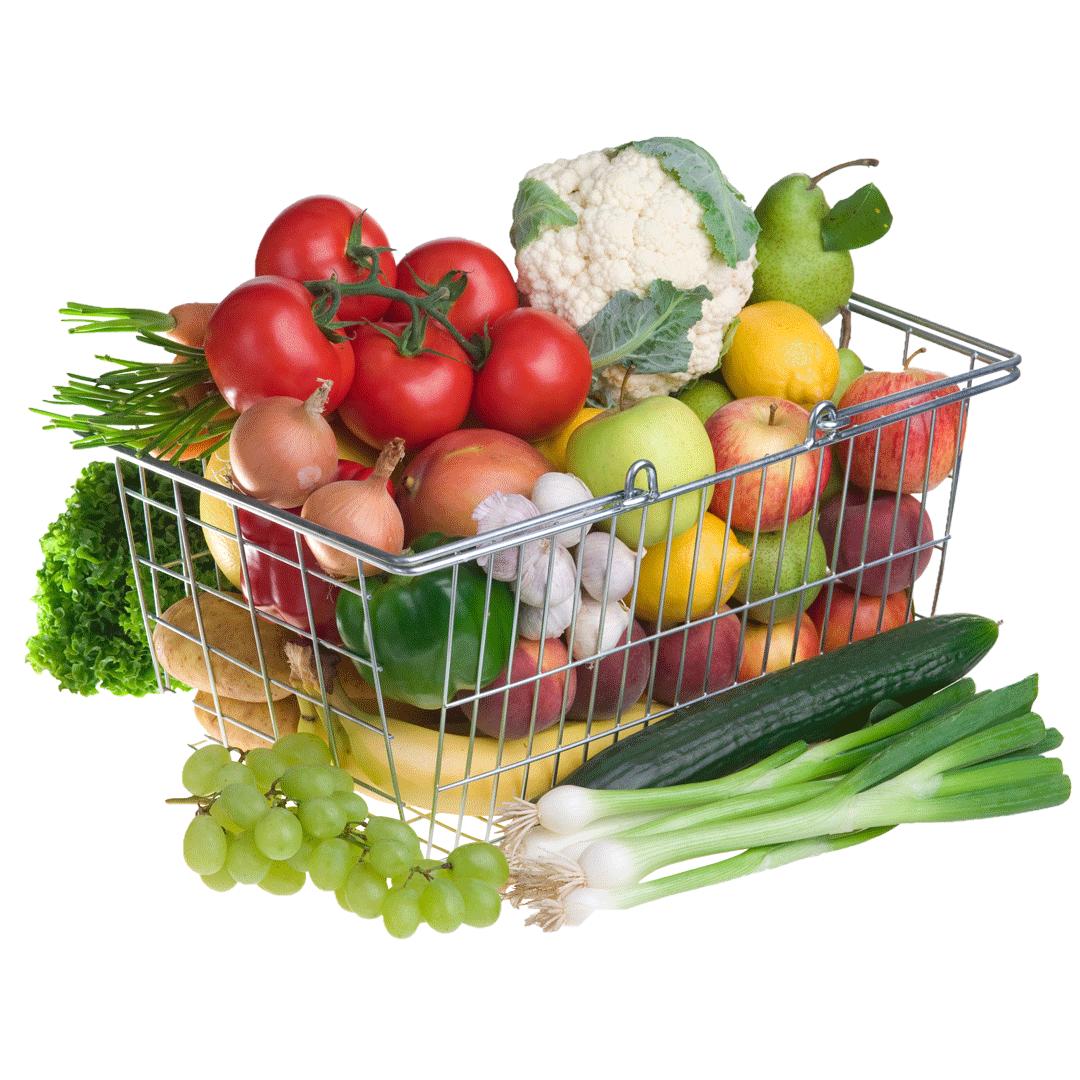 Crea tu cesta de fruta y verdura