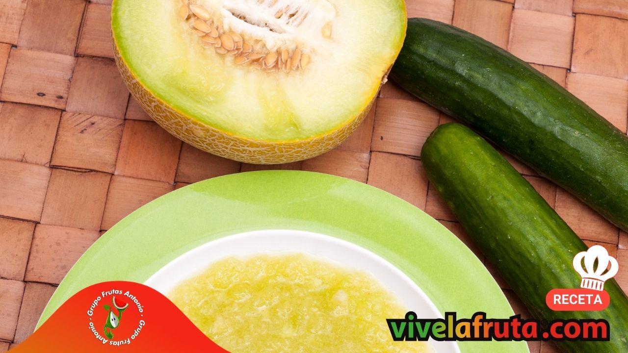 Receta facil de melon