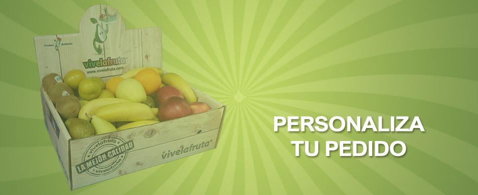 comprar fruta y verdura pedido personalizado