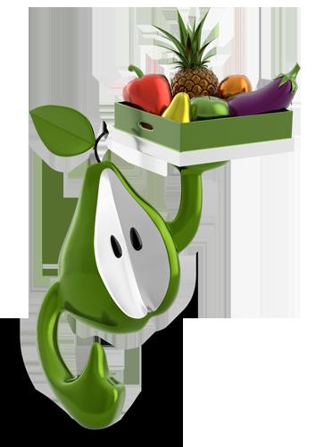 imagotipo corporativo de vivelafruta.com
