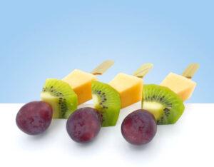 pinchos de fruta fresca para eventos empresas