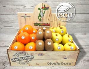 fruta y verdura sostenible y respetuoso con el medio ambiente