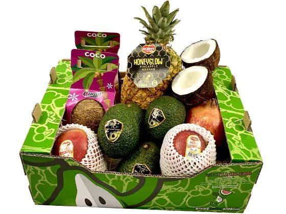 cajas de fruta para regalar gourmet